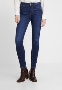 Springfield - SCULPT HIGH RISE - Jeans Skinny Fit - blues - 0