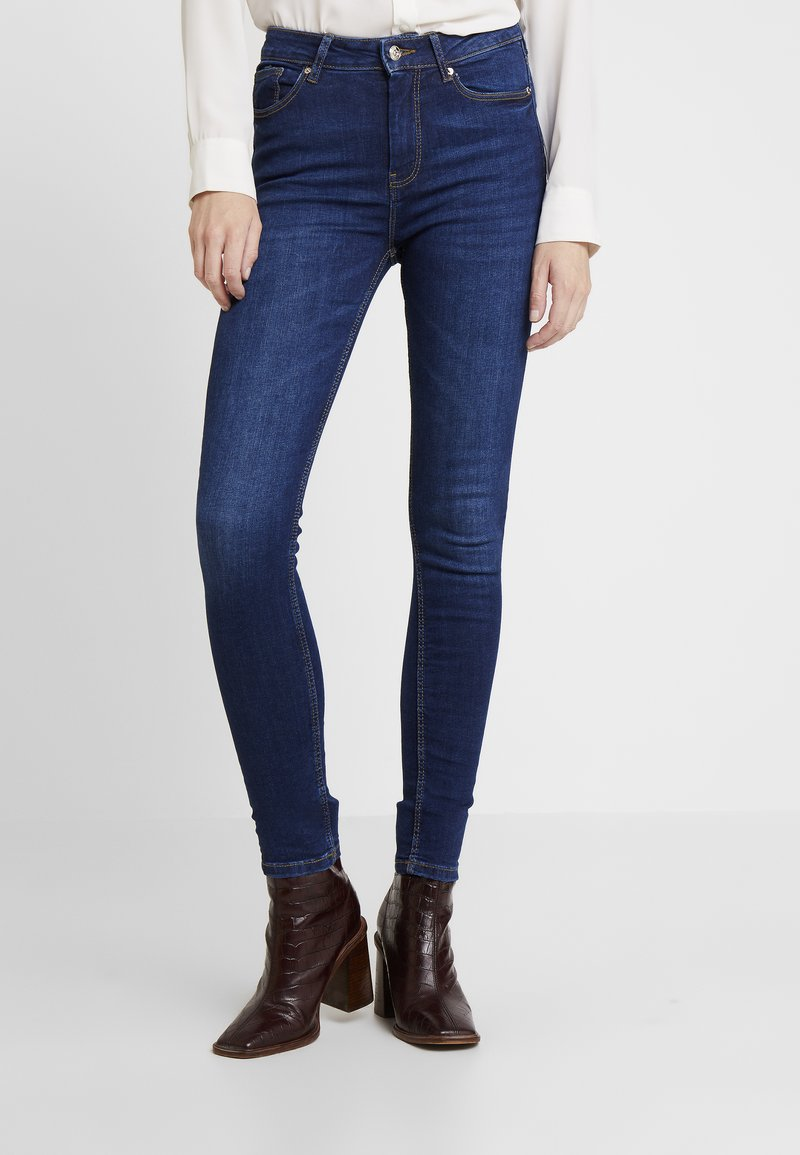 Springfield - SCULPT HIGH RISE - Jeans Skinny Fit - blues