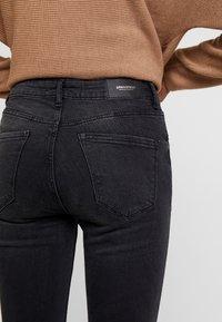 Springfield - CROPPED - Skinny džíny - black - 5