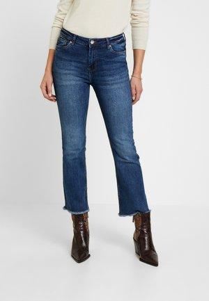 KICK - Flared Jeans - blues