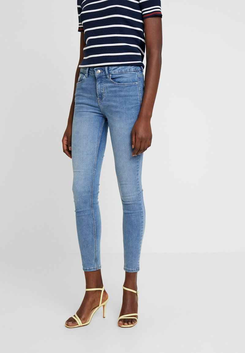 Springfield - CROPPED PREMIUM - Jeans Skinny Fit - blues