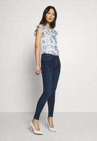 Springfield - Jeans Skinny Fit - dark blue - 1