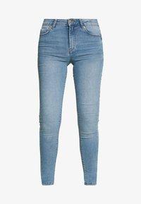 Springfield - Slim fit jeans - light blue - 4