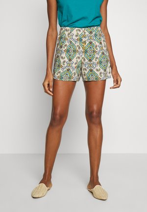 BERMUDA PRINT - Shorts - beige/multi-colour