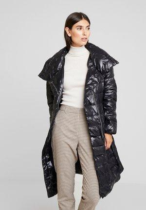 LARGO CINTURON - Down coat - black