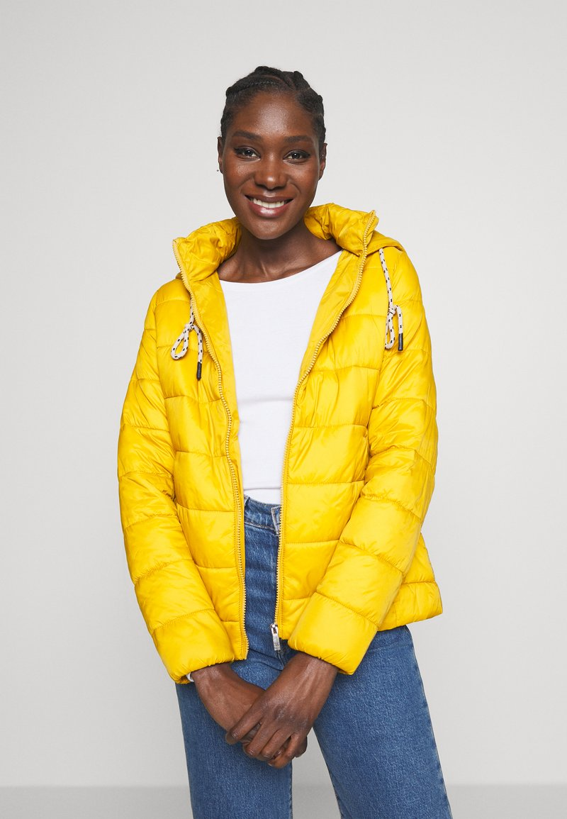 Springfield - ACOLCHADA LIGHT WEIGHT - Winter jacket - yellows