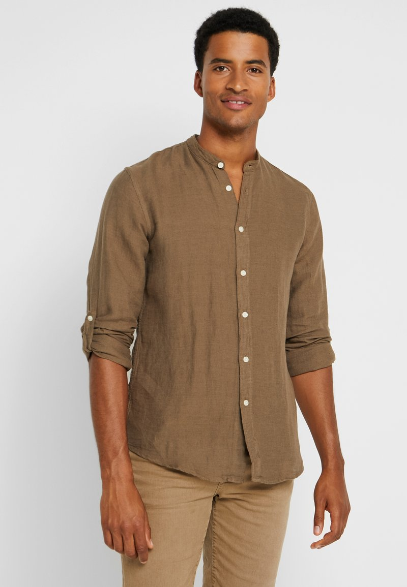 Springfield - Camisa - beige/camel