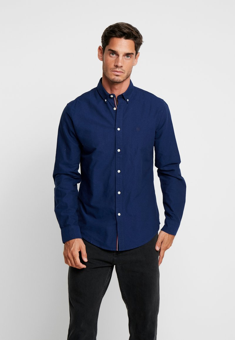 Springfield - SOLID OXFORD BASIC REGULAR FIT - Chemise - blues