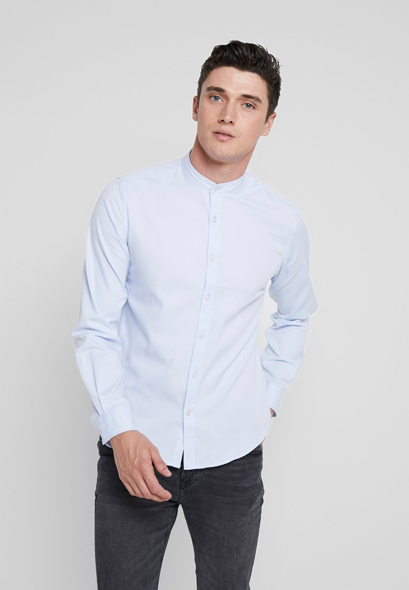 Springfield - SOLID COOLMAX - Shirt - blues