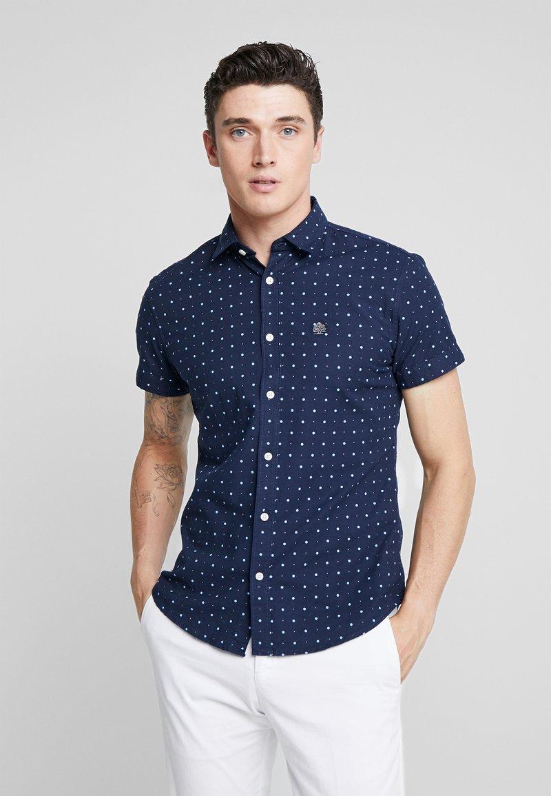 Springfield - FUOXFORD STRECH  - Skjorte - medium blue