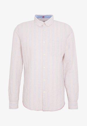 STRIP BLOCK - Camicia - beige