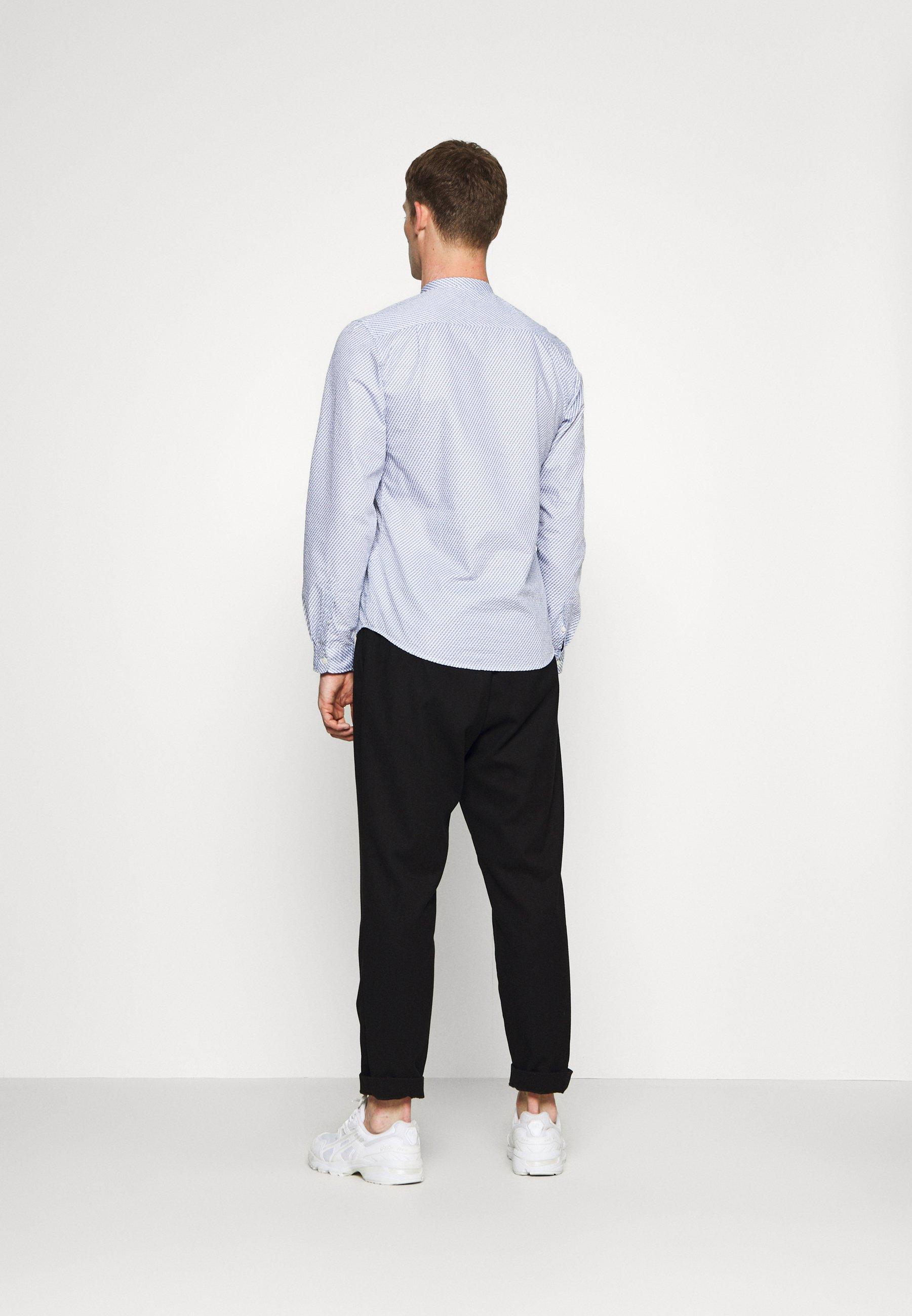 Springfield Mao Seersucker Print - Skjorter White