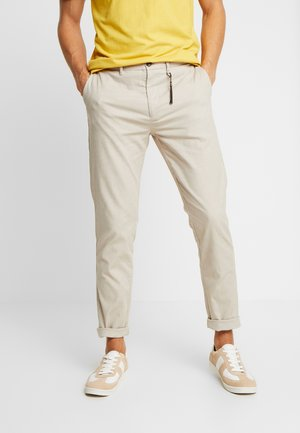 DAILY STRUCT BICOLO - Pantalones chinos - beige/camel