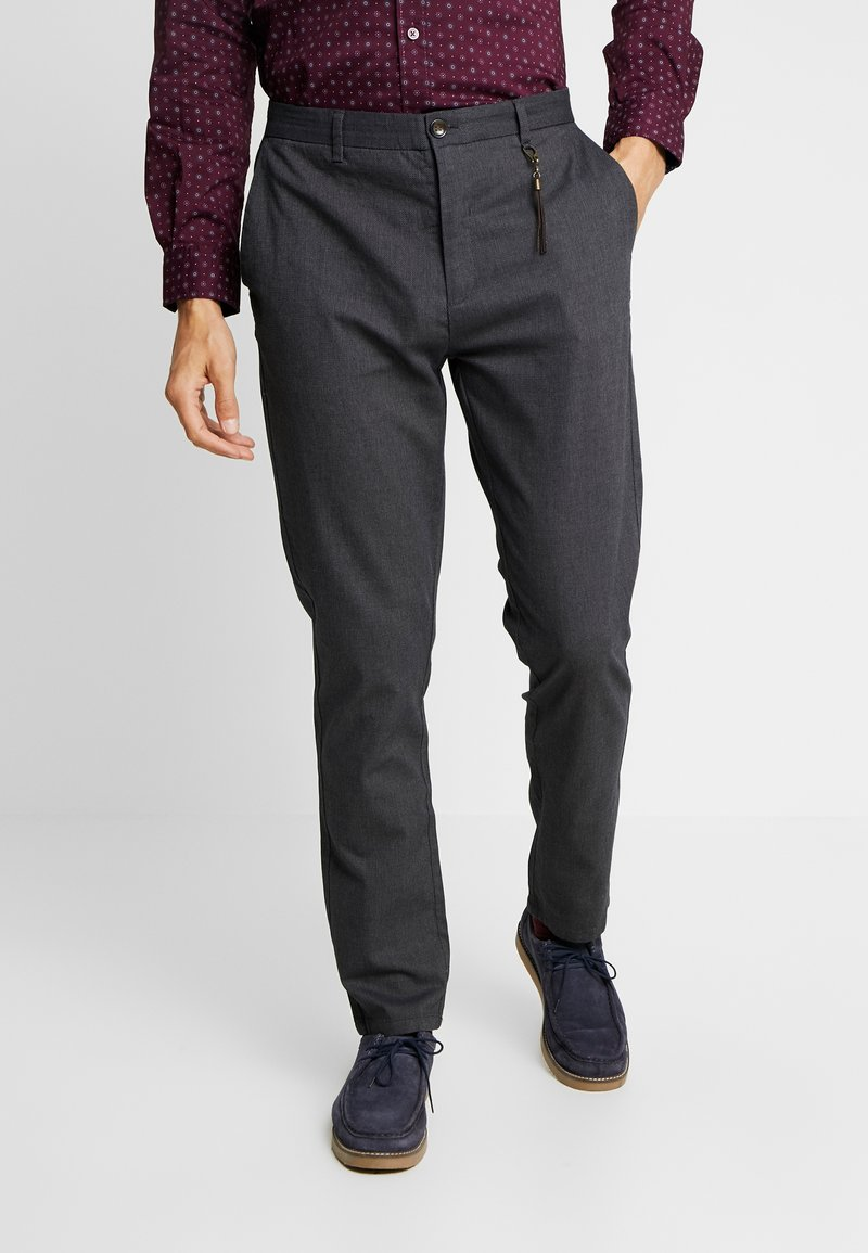Springfield - DAILY STRUCT BICOLO - Chinos - greys