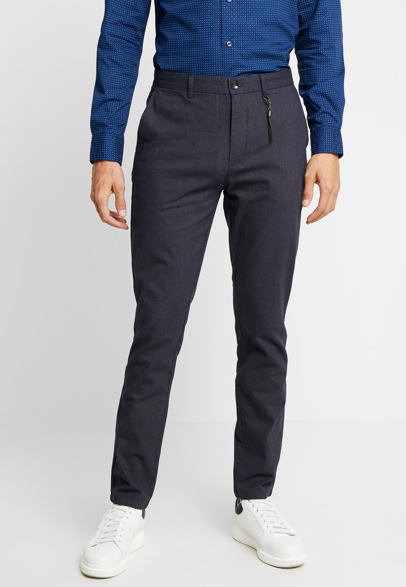 Springfield - DAILY STRUCT BICOLO - Chinos - blues