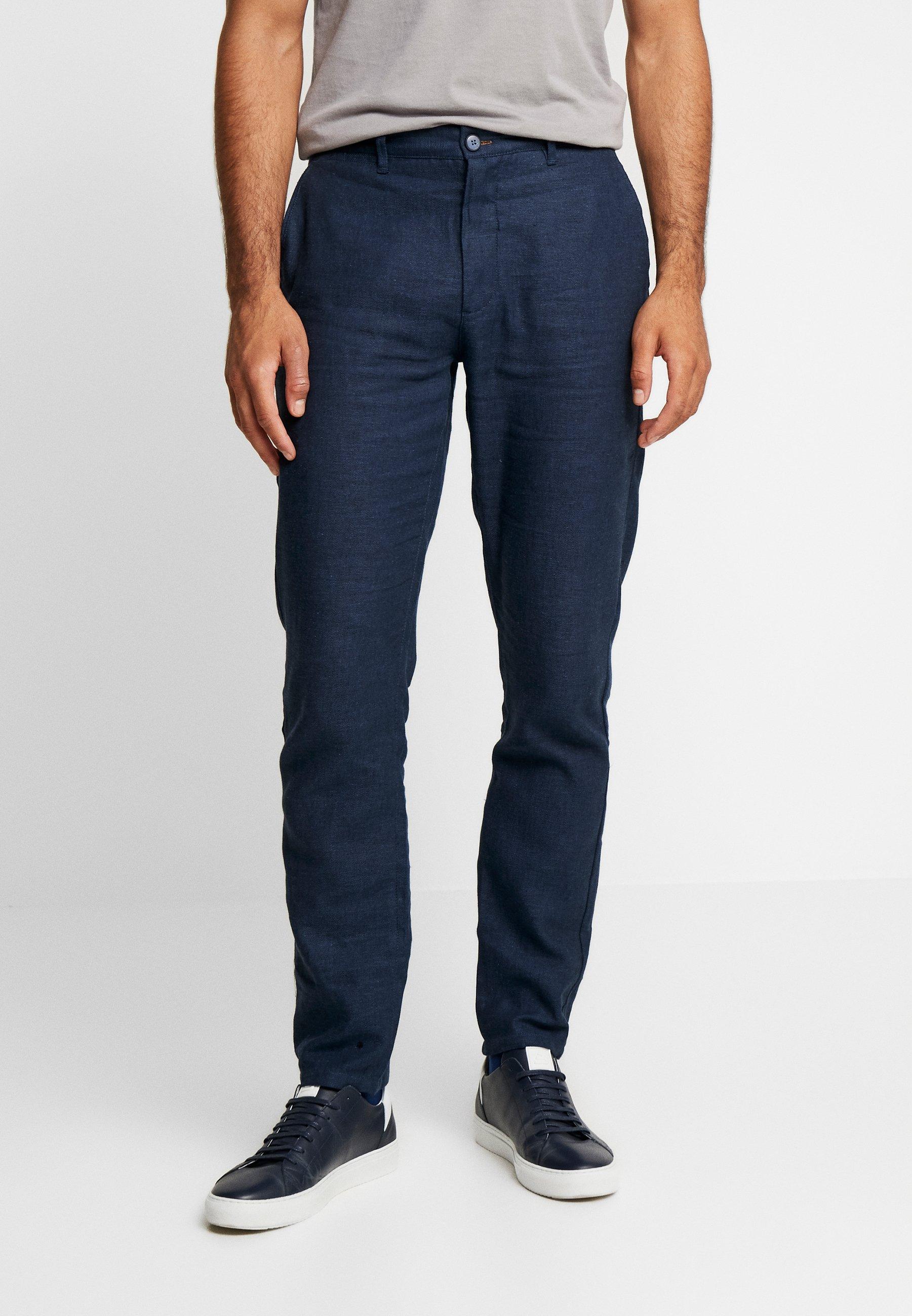 Pant Lino Classique Blue TailorPantalon Dark Springfield NX8Pkn0wO
