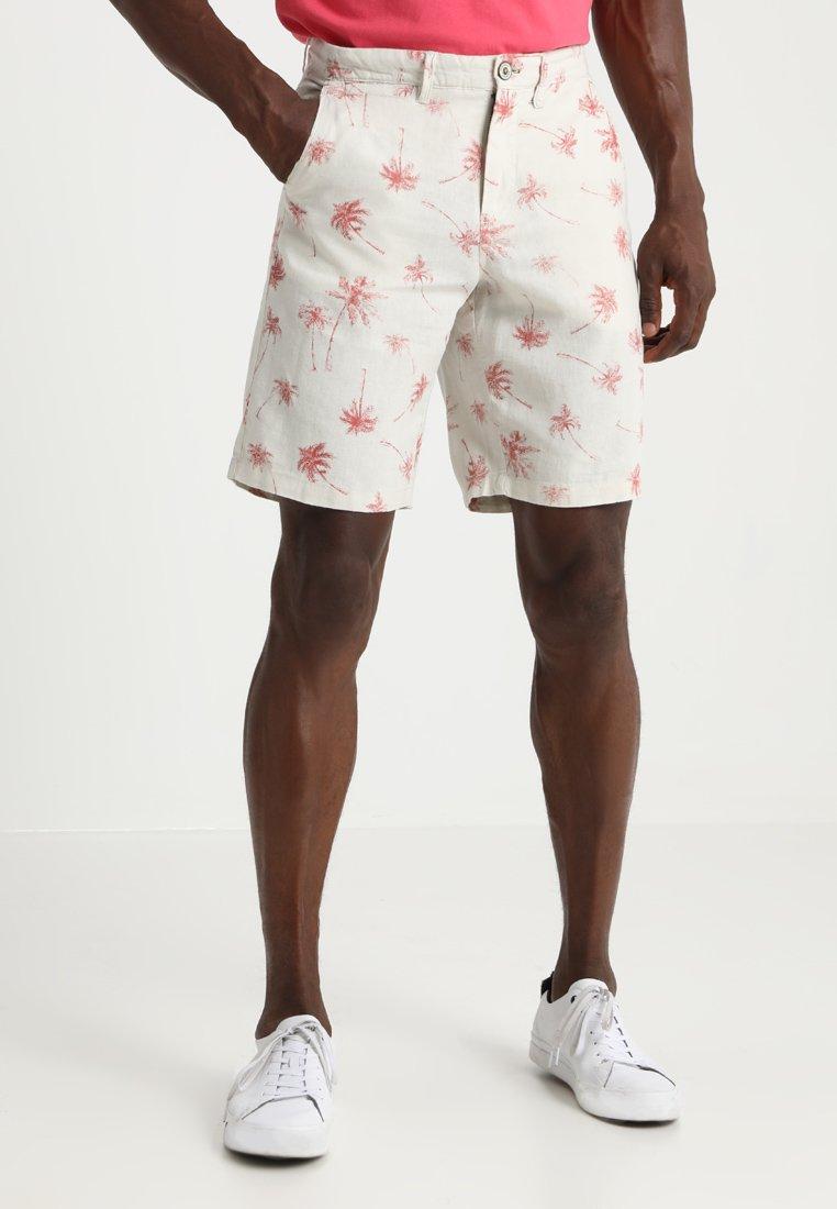 Springfield - BERM LINO PALMS - Shorts - beige/camel
