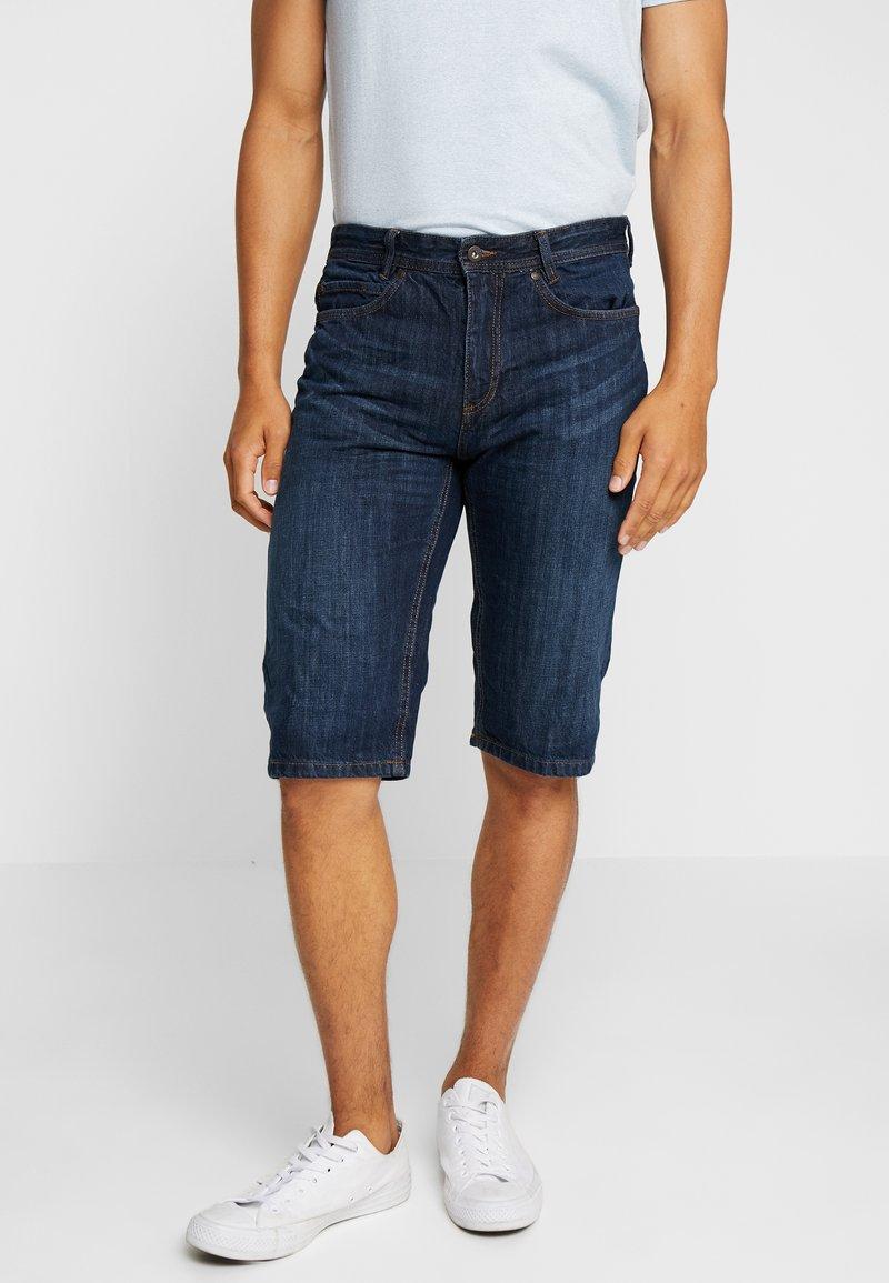 Springfield - BERM PIRATA - Denim shorts - blue