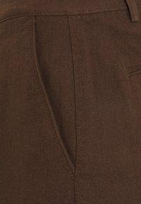Springfield - BERM BASICA - Shorts - dark brown - 2