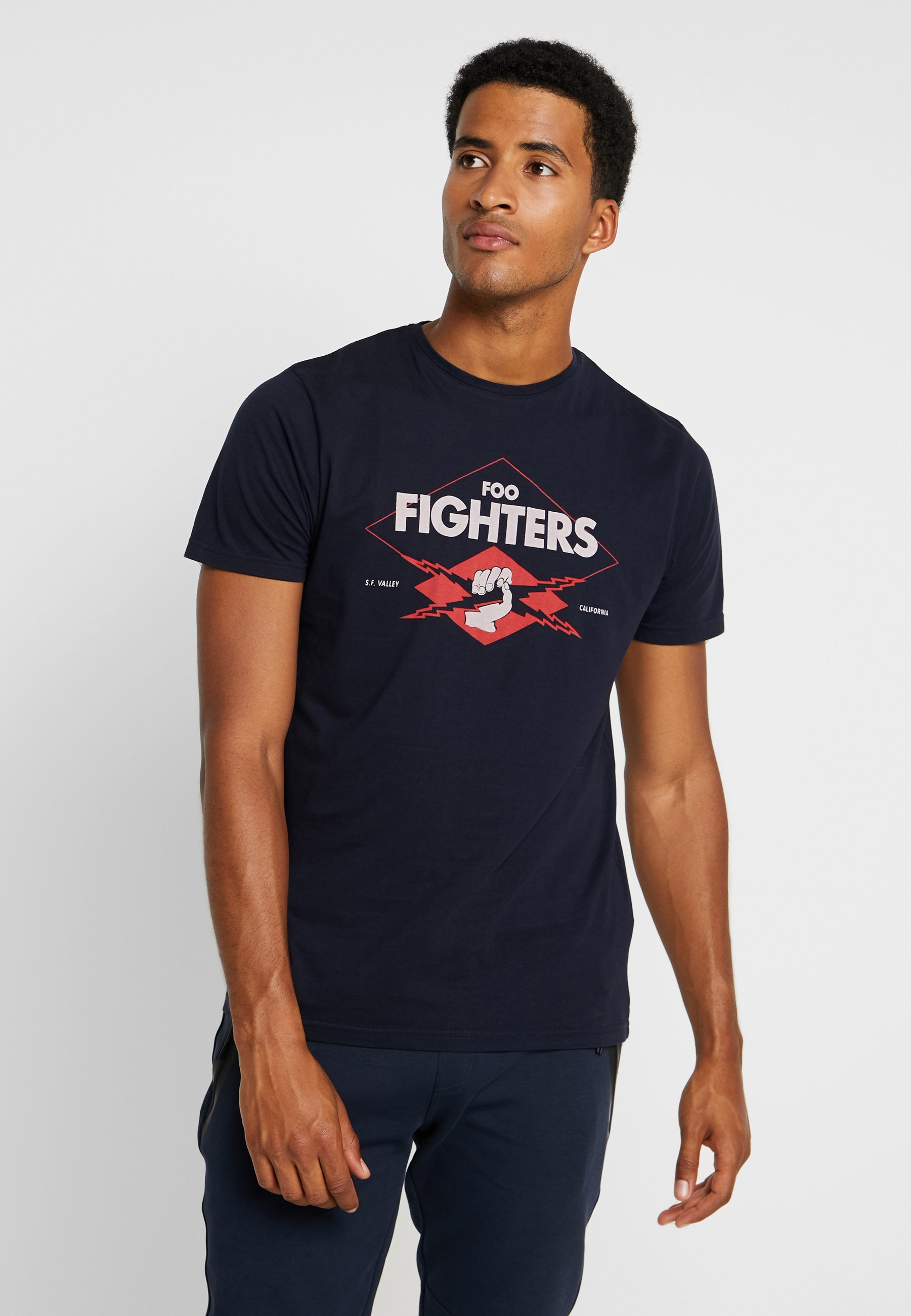 Springfield FightersT shirt Foo Imprimé Blues N8mn0w