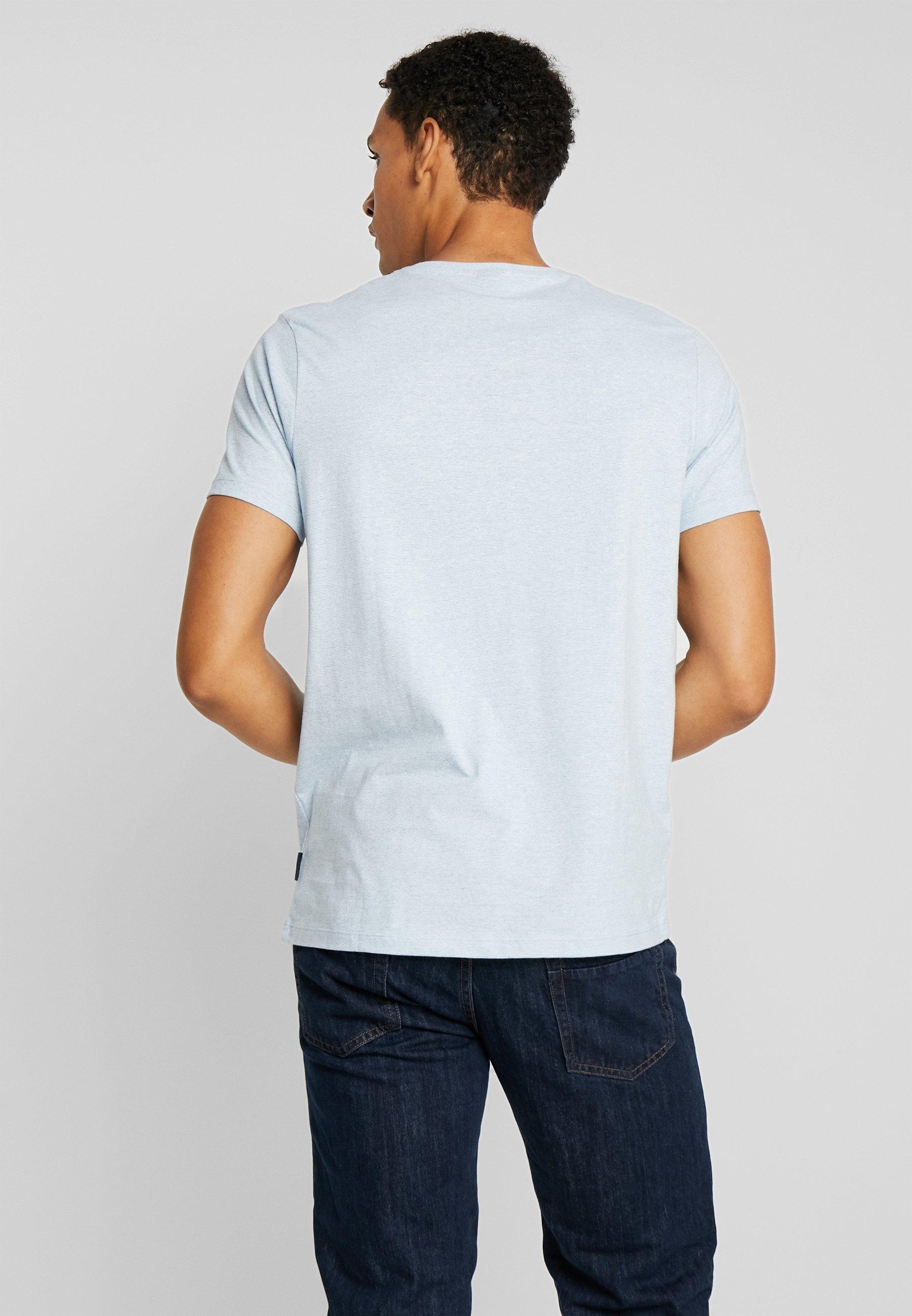 MicrostripeT shirt Blue Springfield Arbol Basique nk0wOP