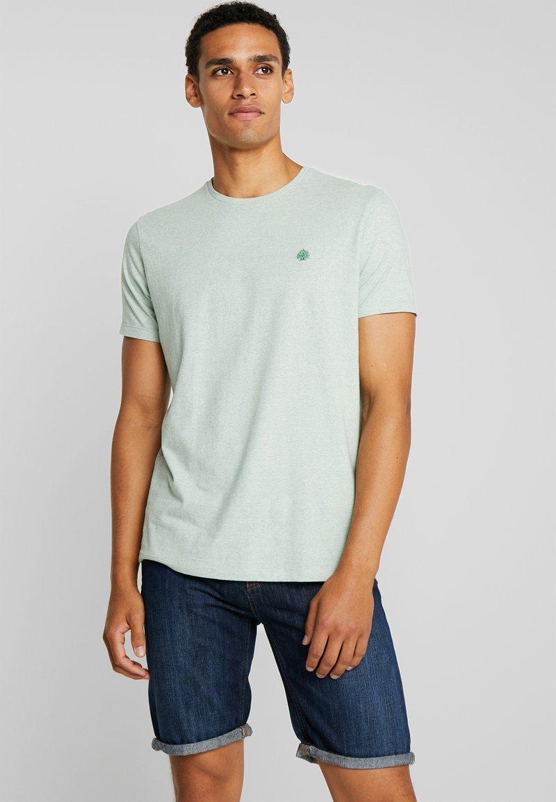 Springfield - ARBOL MICROSTRIPE - T-Shirt basic - green