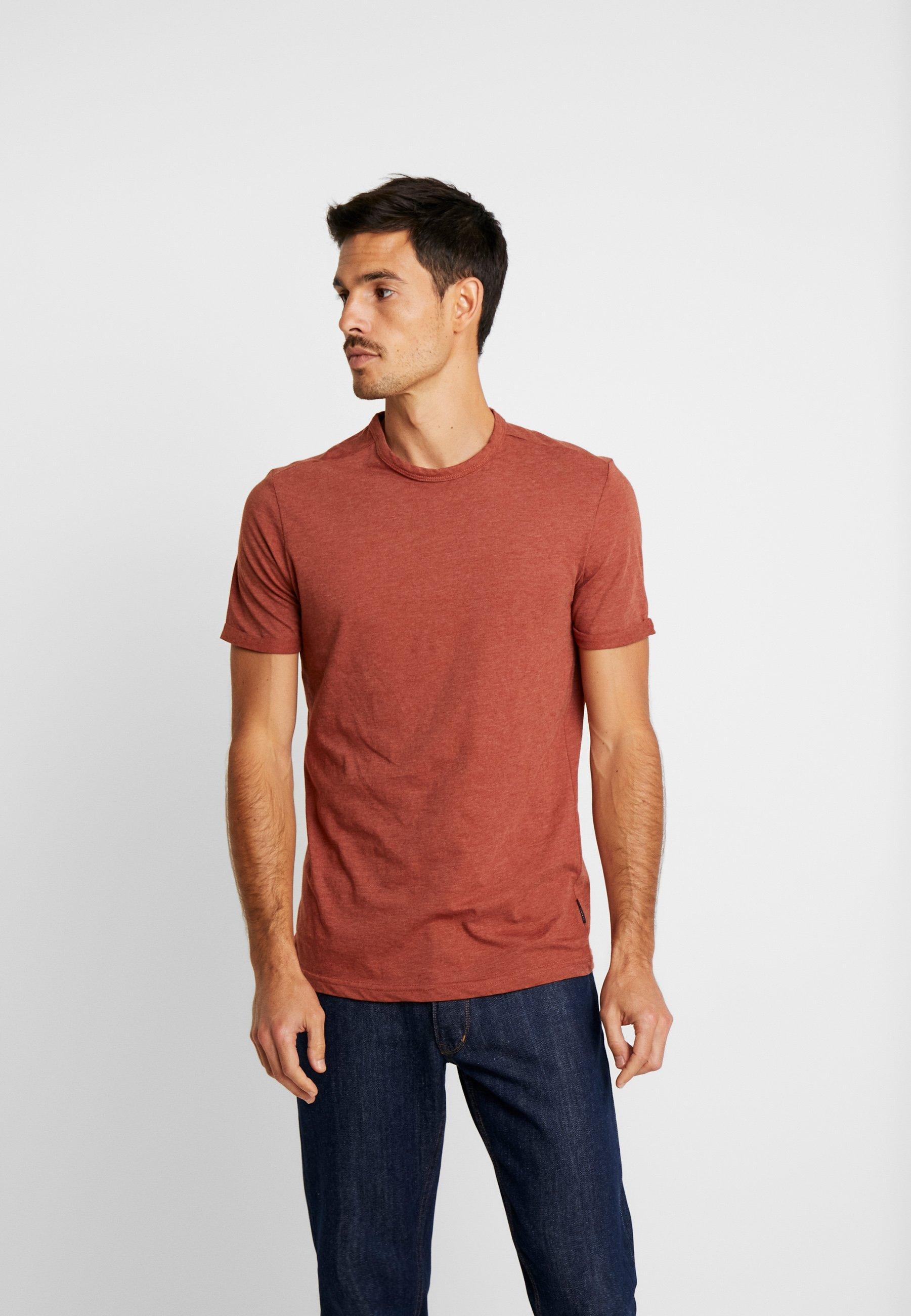 BasicT Springfield Red BasicT shirt Basique Springfield DY2HWE9I