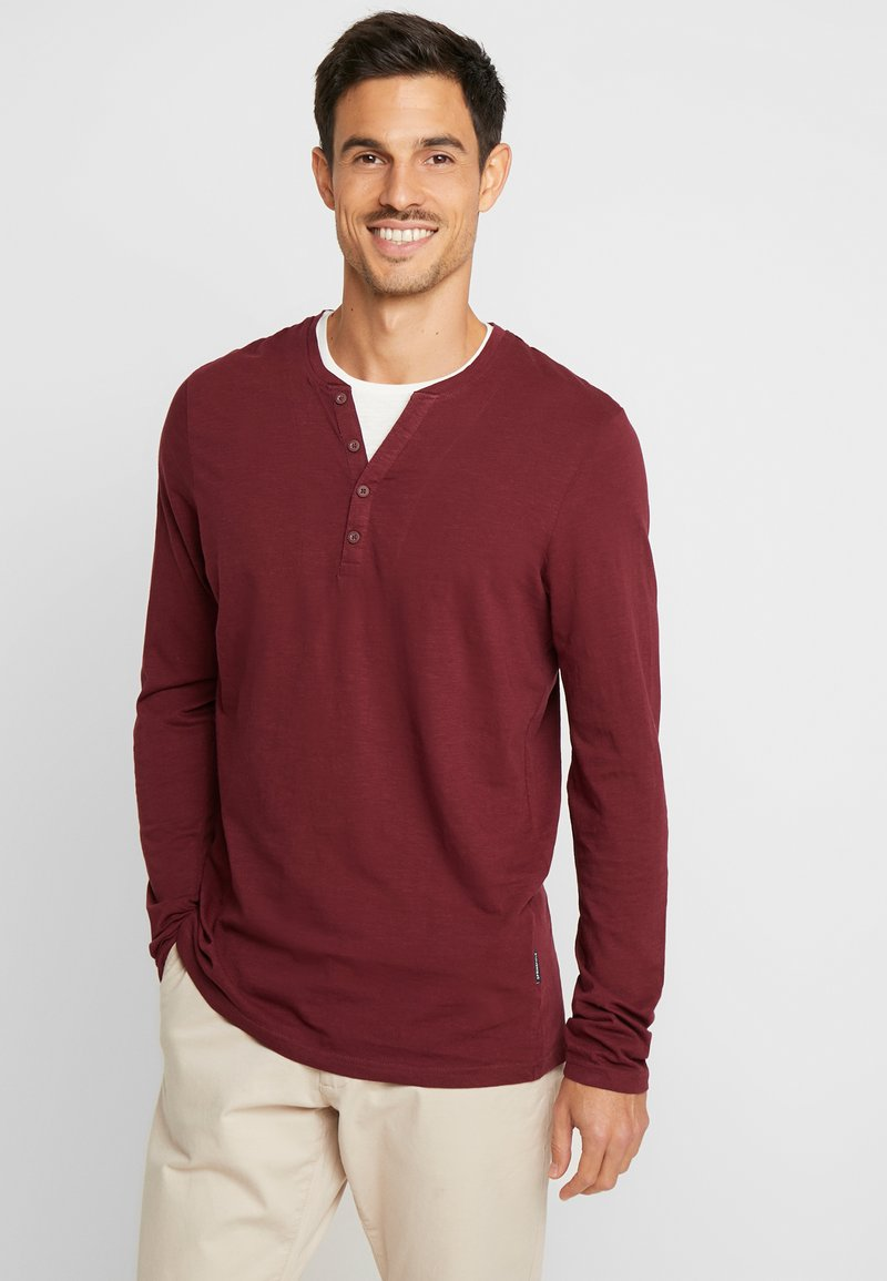 Springfield - PANADERO DOBLE COLOR - Long sleeved top - reds