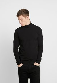 Springfield - CISNE - Long sleeved top - black - 0