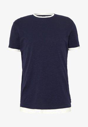 Basic T-shirt - dark blau