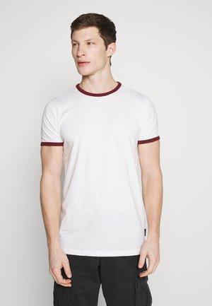 CONTRAST BASIC PLUS - Basic T-shirt - white