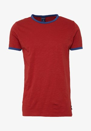 CONTRAST BASIC PLUS - T-shirts - rot