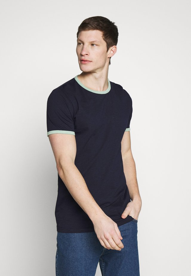 CONTRAST BASIC PLUS - T-shirts - dark blue