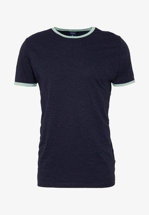 CONTRAST BASIC PLUS - Basic T-shirt - dark blue