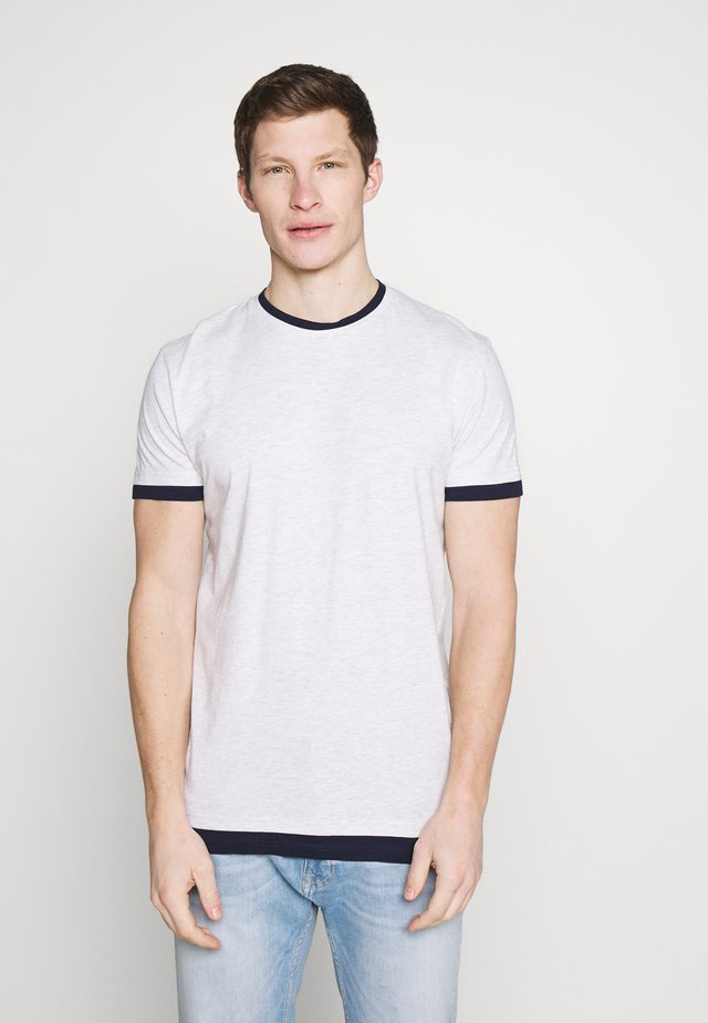 T-shirts med print - grey heather