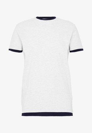 Camiseta estampada - grey heather