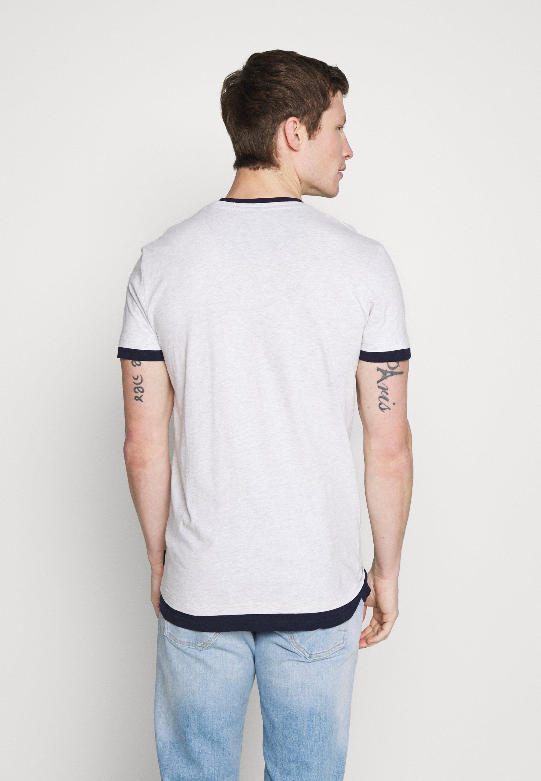 Springfield T-shirts Med Print - Grey Heather