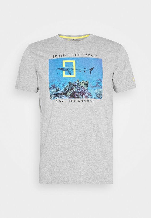 TIBURON BALLENA - T-shirt print - dark grey