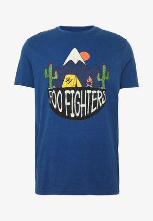 FOO FIGHTERS - Camiseta estampada - medium blue