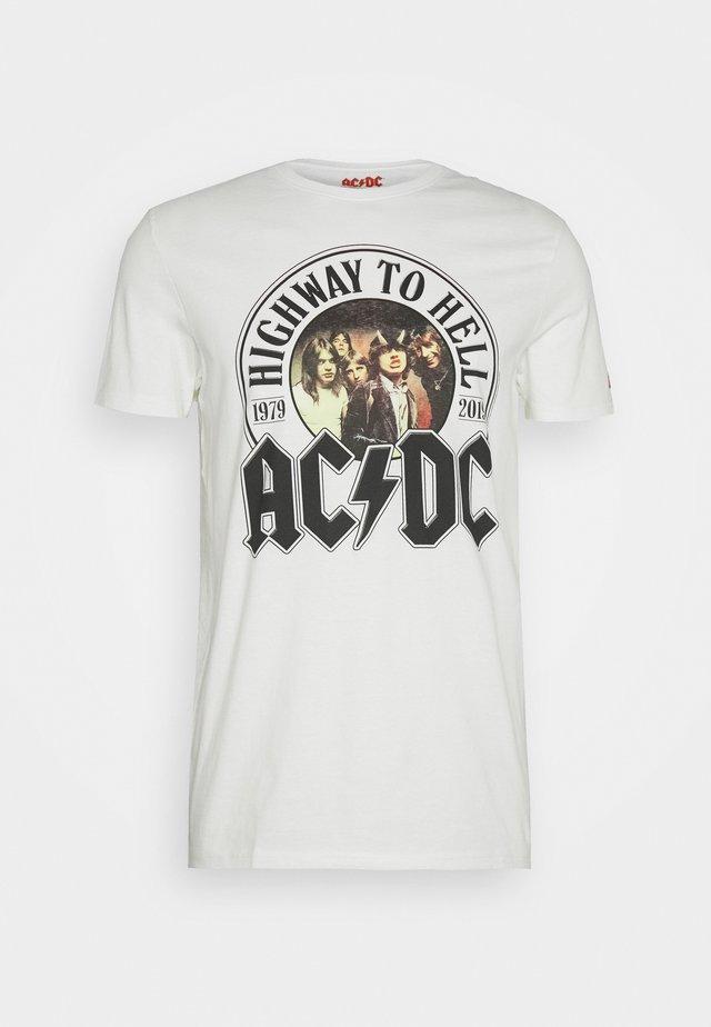 AC/DC - T-shirt print - ivory