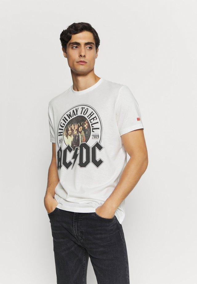 AC/DC - Print T-shirt - ivory