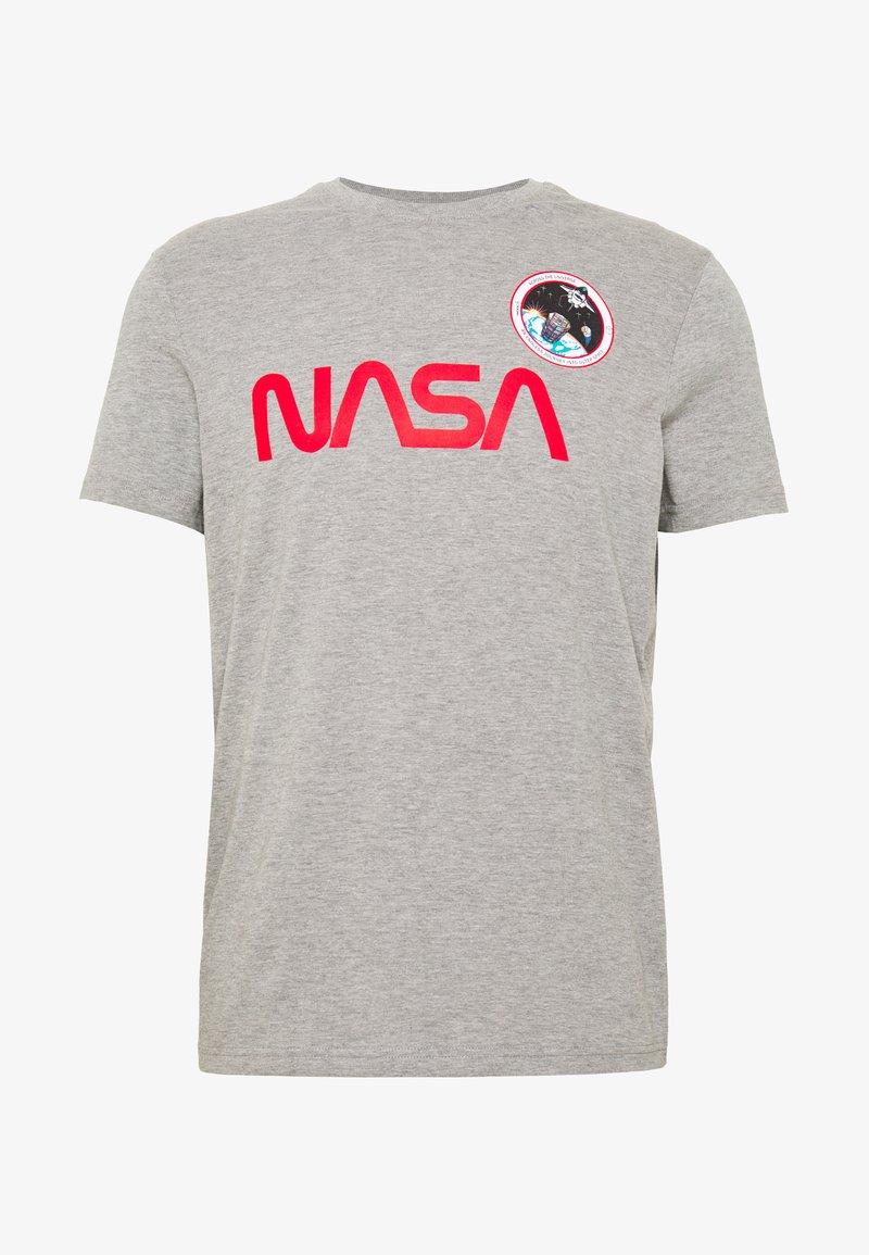 Springfield - WEB NASA PARCHE - Print T-shirt - dark grey