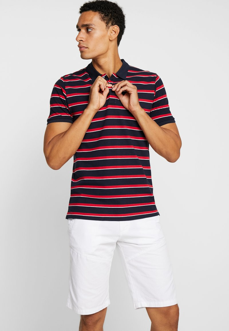Springfield - BASIC STRIPES - Polo shirt - blues