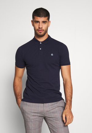 BASIC SLIM - Polo - darkblue
