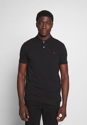 BASIC SLIM - Polo shirt - black