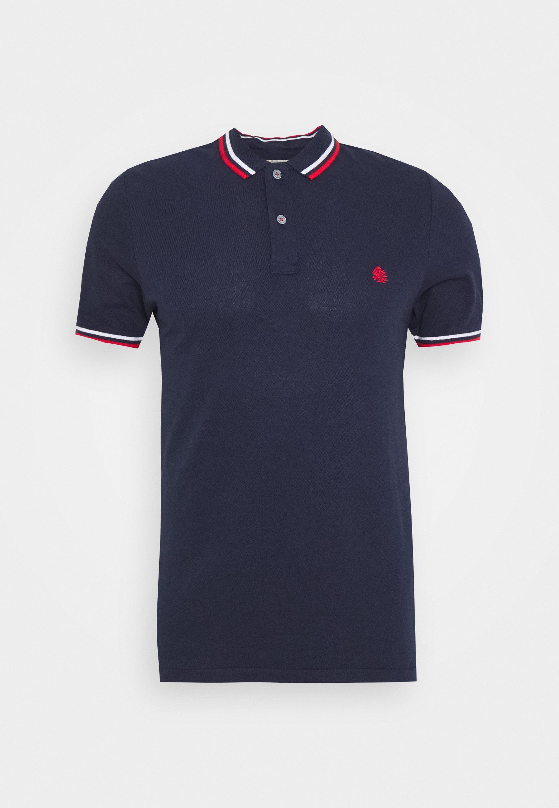 Springfield PIPING - Koszulka polo - dark blue
