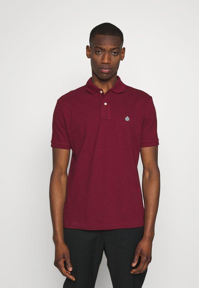 BASIC - Koszulka polo - maroon