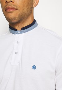 Springfield - MAO DOUBLE TIPPING - Polo shirt - white - 5
