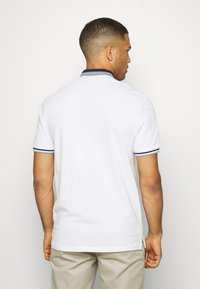 Springfield - MAO DOUBLE TIPPING - Polo shirt - white - 2