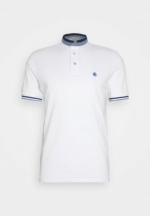 MAO DOUBLE TIPPING - Poloshirt - white